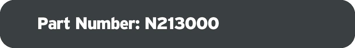 Part Number: N213000