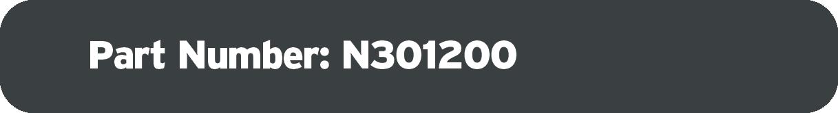 Part Number N301200