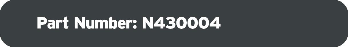 Part Number: N430004